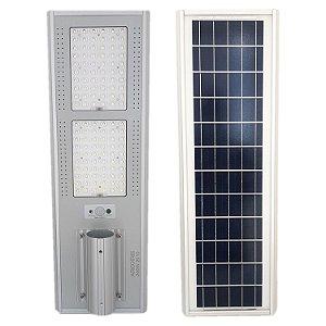 Luminária Fotovoltaica Pública Solar LED 200w Branco Frio com Sensor - 84020