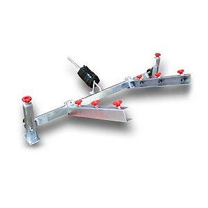Garra jacaré com regulagem XYZ com opção de 50 cm, 70 cm, 100 cm Metal Printer