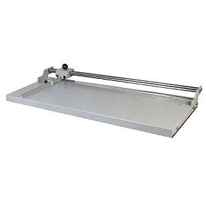 Refiladora duplo eixo 150 cm para papel, lona e vinil adesivo Excentrix