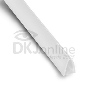 Perfil Peg Doc PS Branco 10 mm barra 3 metros