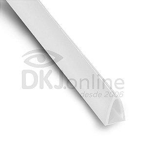 Perfil Peg Doc PS Branco 15 mm barra 3 metros