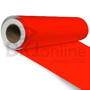 Aplinil - Vinil adesivo monomérico vermelho tomate brilho 50 cm de largura - Aplike