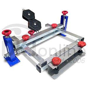 Garra para impressão por serigrafia (silk screen) tubolar
