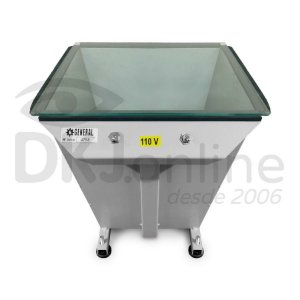 Baby - mesa de luz 30 x 30 cm para gravação de matrizes serigráfica