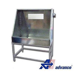 Lavador de matrizes serigráfica para quadros de até 90x110 cm
