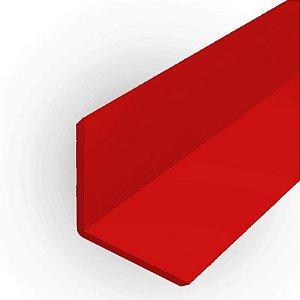 Cantoneira em ps ou pvc 19 mm x 19 mm para acabamento de placas e painéis