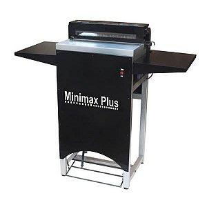 MiniMax Plus - Perfuradora elétrica semi industrial para espiral, wire-o e fichário