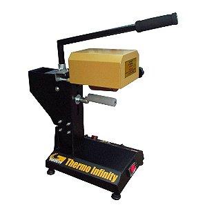 Thermo infinity prensa térmica de giro 220v para transfer laser