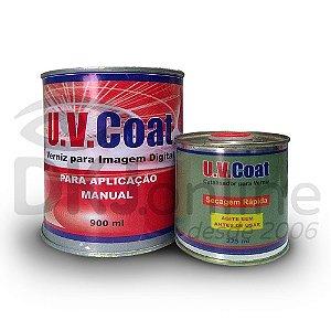 Verniz brilho solvente 1125 ml para impressão digital aplicação manual