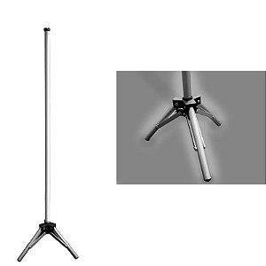 Pedestal articulado médio 1 estágio 115 cm à 215 cm de altura