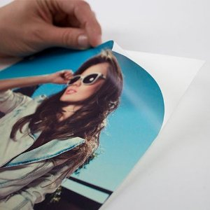 Impressão de vinil adesivo 20 x 30 cm