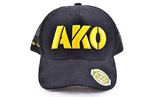 Boné AK OffRoad - Preto e Amarelo