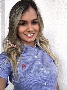 Camisa Feminina Só Brutos Oficial - Xadrez