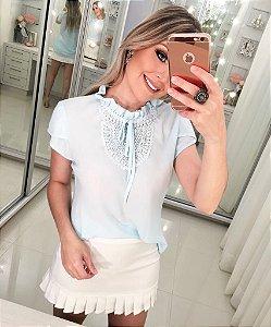 Blusa Pérola Azul
