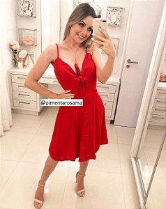 Vestido nó Vermelho
