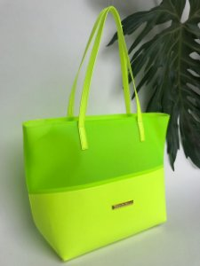 Bolsa praia Neon Limão