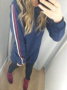 Blusão Azul Marinho