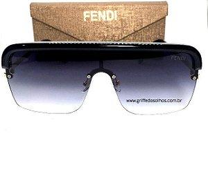 Oculos Quadrado Fendi  Modelo Mascara / Unissex