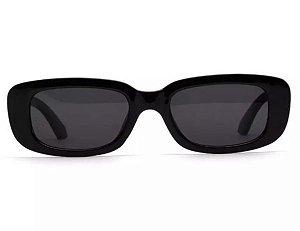 Óculos De Sol John - Retrô Vintage  Preto