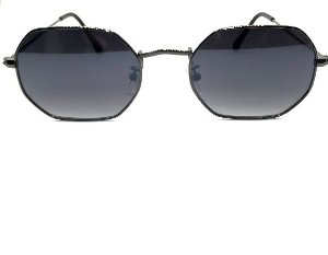 Óculos de Sol Trixs  - Octagonal 1.0 Preto Metal