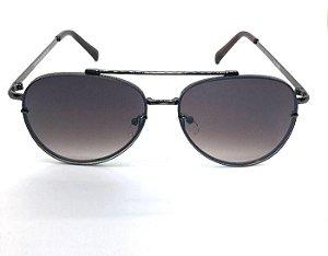 Aviador Jay Luxury Preto  - Oculos de Sol Lente Preto  Degrade