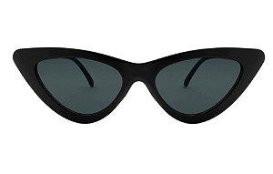 Oculos de Sol  Gatinho Vintage Preto