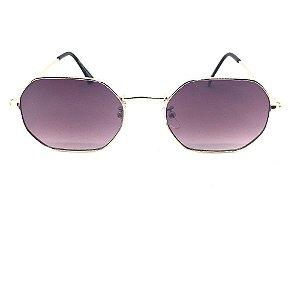 Óculos de Sol Trixs - Octagonal 1.0  Lente Lilas Degrade
