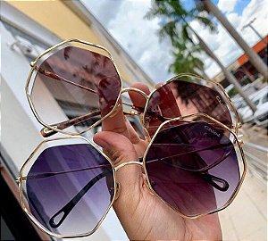 Óculos de Sol Chloé Oval Petal 57mm - Griffe dos Olhos   Replicas ... 95a64eb17f