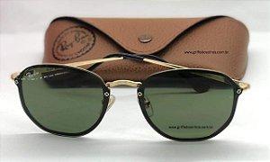 Óculos de Sol Ray Ban Rb 3579 N Blaze Hexagonal Verde