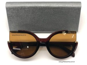 MARC BY MARC JACOBS MMJ 477 S - ÓCULOS DE SOL - LENTE MARROM  DEGRADÊ