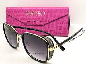 Jimmy Choo - ELVA/S 2M2 T4 A - Óculos de Sol / Glitter