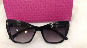 TOM FORD VALESCA  PRETO - FT 0555/S 01G - ÓCULOS DE SOL CAT