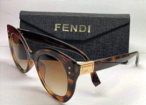 Fendi Peekaboo ff0265/S 086 - Havana Marrom Dourado