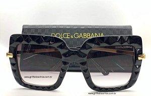 Dolce & Gabbana Preto DG 6111 504/8G - Óculos de Sol /  Lente 5,1 cm
