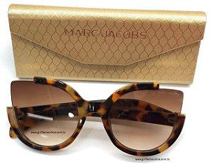 MARC BY MARC JACOBS MMJ 477 S 57 HAVANA - ÓCULOS DE SOL  BRILHO/ TARTARUGA - Lente 5,7 cm
