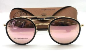 Ray Ban Rose  Round Double Bridge RB 3647-N 001