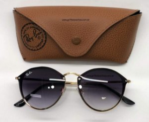 Blaze Round Ray Ban RB3574N - Espelhado/Oval Degrade