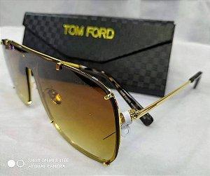 28f832d40 Óculos de Sol Masculino Tom Ford Masculino - Quadrado Marrom 2019
