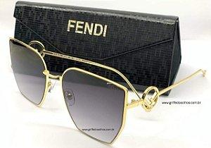 Óculos de Sol Fendi FF 0323/S FT3/FQ  Armação Dourado