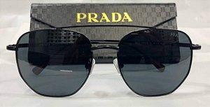 Óculos de Sol Prada Linea Rossa PS 56SS  Masculino - Preto