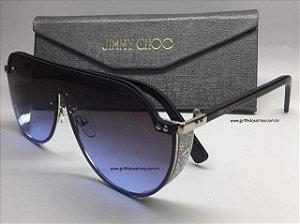 Óculos de sol  - Jimmy Choo Máscara Oversized Feminino