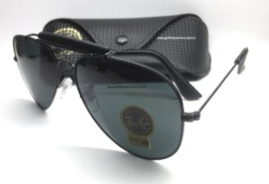 Ray Ban Unissex Aviador Outdoorsman Craft RB3422Q Marca: Ray Ban
