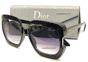 Dior Gaia 807IR Preto Quadrado - Oculos de Sol