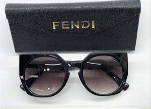 Óculos de Sol - Fendi FF 0151/S Preto FACETS - Lente Preta