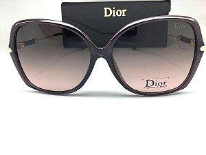 Oculos de Sol Dior  Borboleta - Armação Lilás Escuro