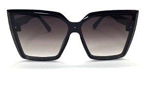 Óculos de Sol Gatinho Kely - Armação Preto