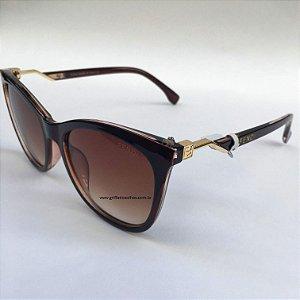 Fendi - Cube Marrom FF 0200/S 086HA - Óculos de Sol