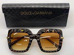 Dolce & Gabbana Armação Degrade  DG 6111 504 - Óculos de Sol /  Lente 5,1 cm