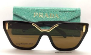 Prada Gatinho  PR16TS Óculos de Sol - Marrom