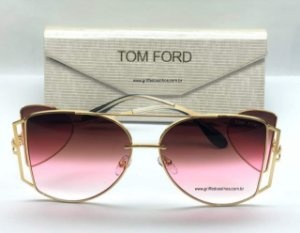 Tom Ford Maxi Óculos  Lançamento   -  Oculos de Sol / Armação Leve